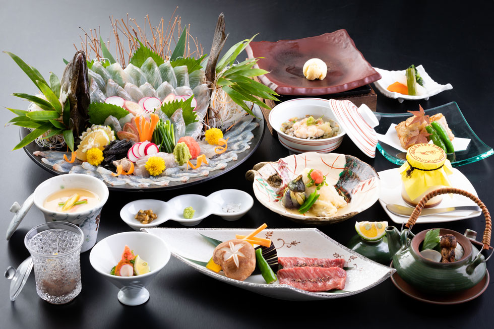 平目コースの料理写真