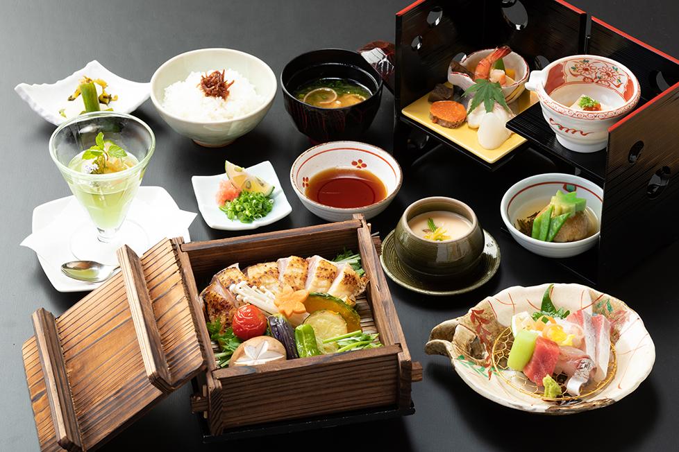 選べる会席4000円の料理写真
