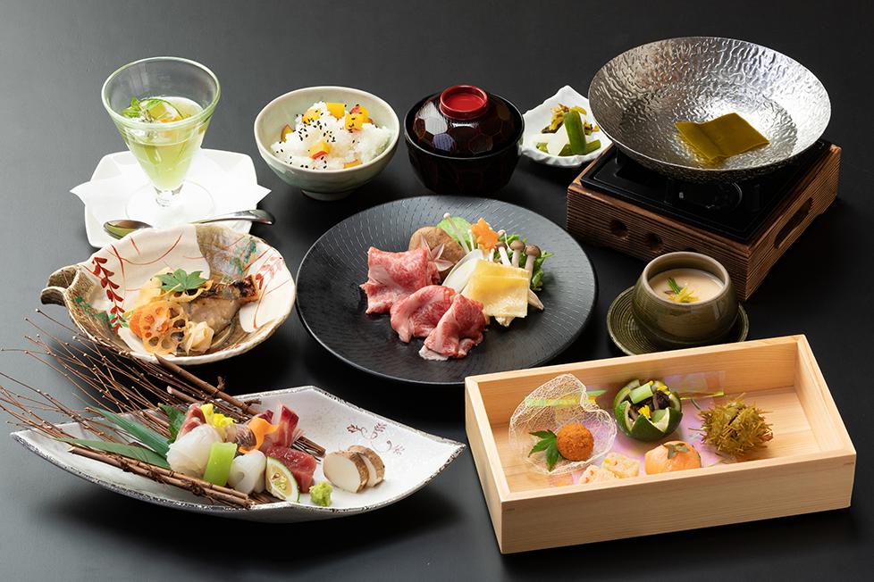 選べる会席5000円の料理写真
